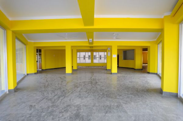 Hospital inside